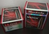 Hornady Cal 22 .224 52 gr BTHP Match 500Stk
